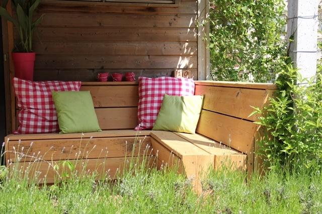 Stoere meubels voor zomers terras, Arnhem