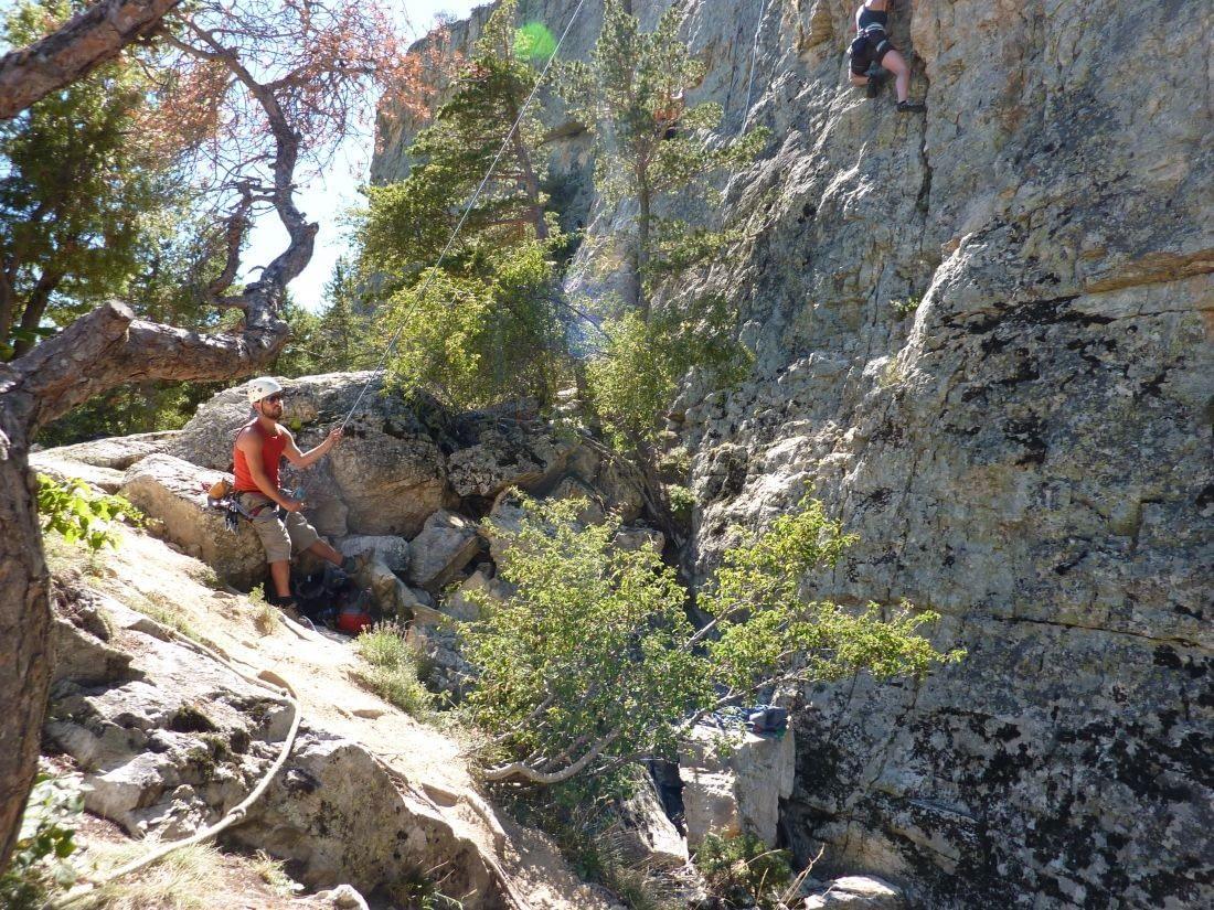 zekeren van de klimmer