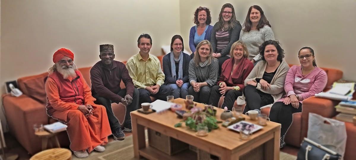 group picture Lotus Training Masterclass september teacher training